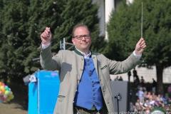 Manuel Pretzl, Wiesn Platzkonzert mit allen Wiesnkapellen unter der Bavaria am Oktoberfest in München 2018