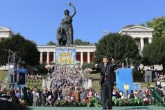 Dr. Thomas Böhle, Wiesn Platzkonzert mit allen Wiesnkapellen unter der Bavaria am Oktoberfest in München 2018