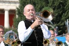 Dany Bonvin, Wiesn Platzkonzert mit allen Wiesnkapellen unter der Bavaria am Oktoberfest in München 2018