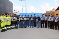 Polizei und Rotes Kreuz aus Italien 2017