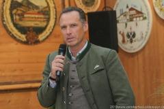 Peter Inselkammer, Präsentation Wiesnkrug im Armbrustschützenzelt auf der Theresienwiese in München 2019