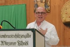 Jürgen Kirner, Präsentation Wiesnkrug im Armbrustschützenzelt auf der Theresienwiese in München 2019