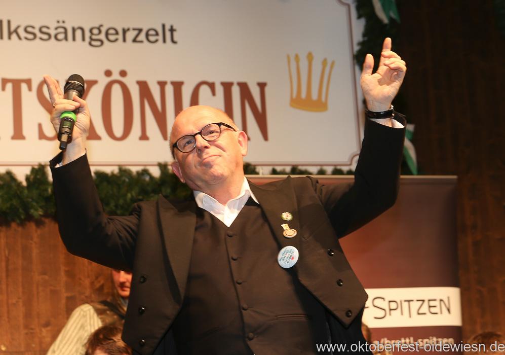 ürgen Kirner, Schönheitskönigin 15. Tag auf der Oidn Wiesn am Oktoberfest in München 2018