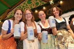 Auf d'Sait'n, Schönheitskönigin 15. Tag auf der Oidn Wiesn am Oktoberfest in München 2018