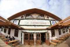 Tag  16 im Volkssängerzelt zur Schönheitskönigin auf der Oidn Wiesn in München 2019
