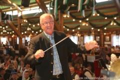 Prof. Erich Rinner, der 3. Tag in der Schönheitskönigin auf der Oidn Wiesn am Oktoberfest in München 2018