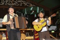 Tom und Basti, Der 3. Tag im Volkssängerzelt zur Schönheitskönigin auf der Oidn Wiesn in München 2019