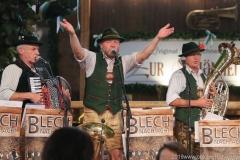 Blech nach Acht, Der 3. Tag im Volkssängerzelt zur Schönheitskönigin auf der Oidn Wiesn in München 2019