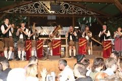 Tanngrindler Musikanten, Der 3. Tag im Volkssängerzelt zur Schönheitskönigin auf der Oidn Wiesn in München 2019