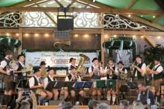 Riedernger Musikanten, Tag 4 im Volkssängerzelt zur Schönheitskönigin auf der Oidn Wiesn am Oktoberfest in München 2019