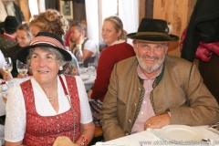 Christa und Karl-Heinz Knoll, Filserbuam in der Schönheitskönigin auf der Oidn Wiesn am Oktoberfest in München 2018