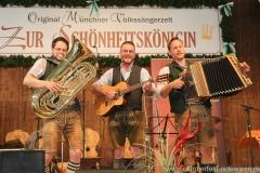 Trio Schleudergang, Schönheitskönigin 7. Tag auf der Oidn Wiesn am Oktoberfest in München 2018