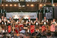 Tanngrindler Musikanten, Der 9. Tag im Volkssängerzelt zur Schönheitskönigin auf der Oidn Wiesn in München 2019