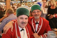 Original Münchner Schäffler, Der 9. Tag im Volkssängerzelt zur Schönheitskönigin auf der Oidn Wiesn in München 2019
