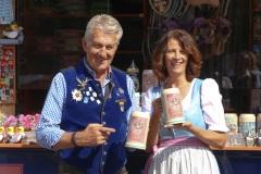 Günter und Christine Malescha, Trachtival im Werksviertel-Mitte in München 2020