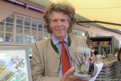 Maximilian Fliessbach, Oktoberfestwirte präsentieren den Wirtekrug am  Nockherberg in München 2019