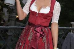 Natascha Hofmann, Angermaier Wiesn Playmate im Hofbräuhaus in München 2020