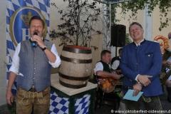 Christian Lehner und Tobias Ranzinger (re.), Wiesn Playmate im Park-Cafe in München 2021