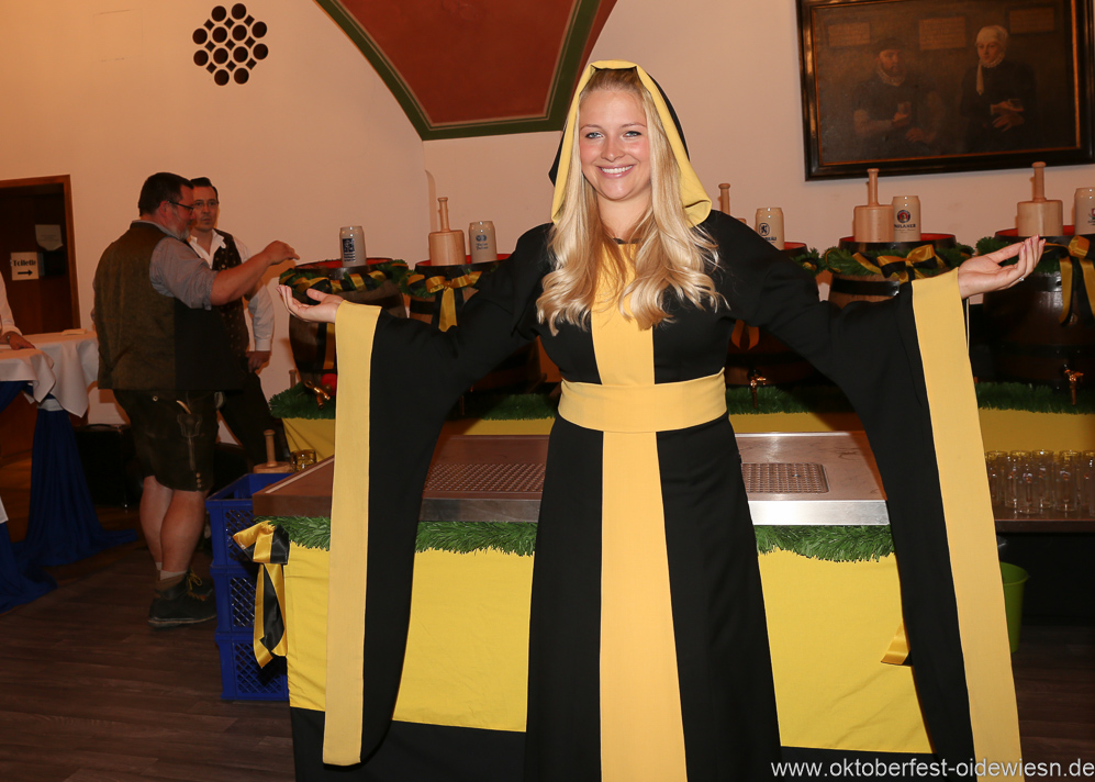 Viktoria Ostler, Wiesnbierprobe in der Ratstrinkstube im Rathaus in München 2018
