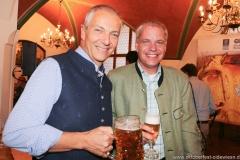 Dr. Michael Möller und Ricky Steinberg (re.), Wiesnbierprobe in der Ratstrinkstube im Rathaus in München 2018
