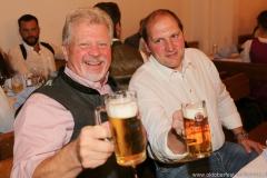 Georg Heide und Thomas Roiderer (re), Wiesnbierprobe in der Ratstrinkstube im Rathaus in München 2018