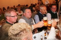 Alexander Reissl, Josef Schmid, Dr. Michael Möller, Bernhard Klier (von li. nach re.), Wiesnbierprobe in der Ratstrinkstube im Rathaus in München 2018