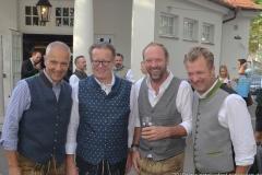 Dr. Michael Möller, Martin Leibhard, Peter Lingnau (von li. nach re.), Wiesnbierprobe im Bad am Bavariaring  in München .2019