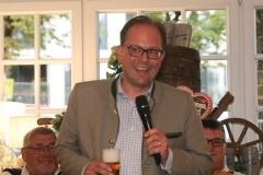 Manuel Pretzl, Wiesnbierprobe im Bad am Bavariaring  in München .2019