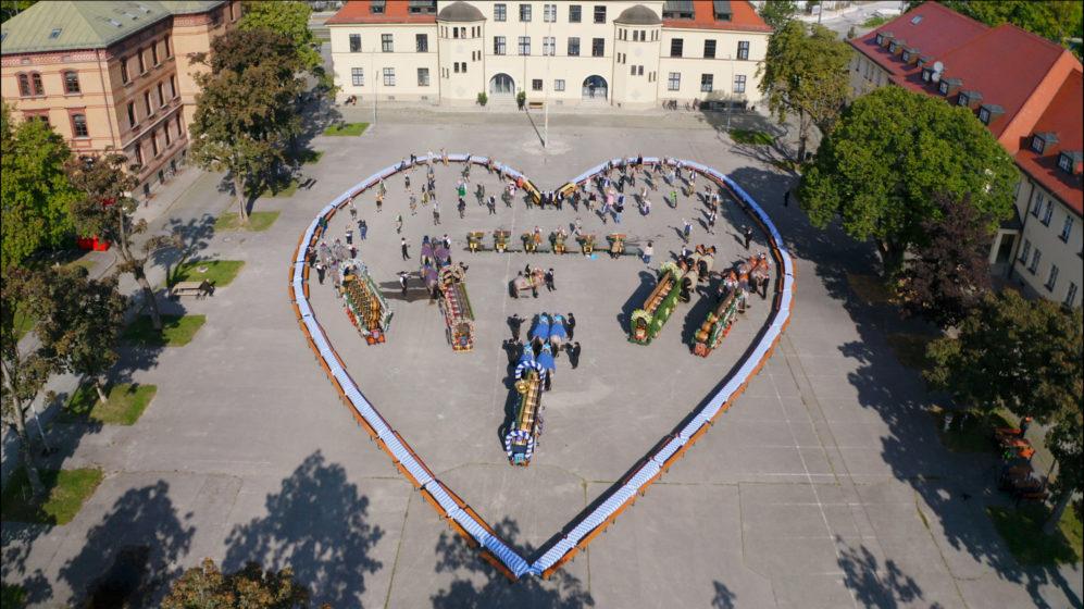 Unser Herz für die Wiesn: Münchner Brauereien und Wiesnwirte grüßen die Welt