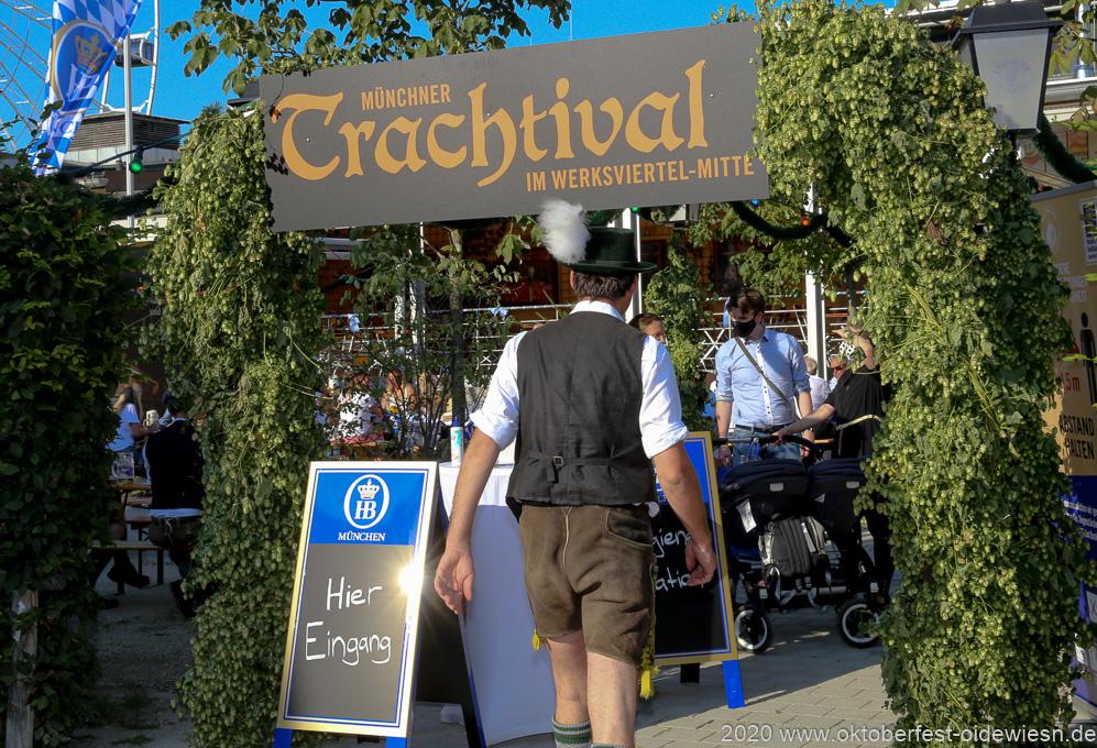Trachtival – Volksfest-Gaudi mit Abstand im Werksviertel in München