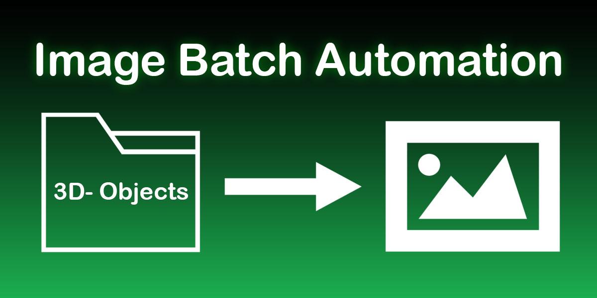 Image Batch Automation addon for Blender