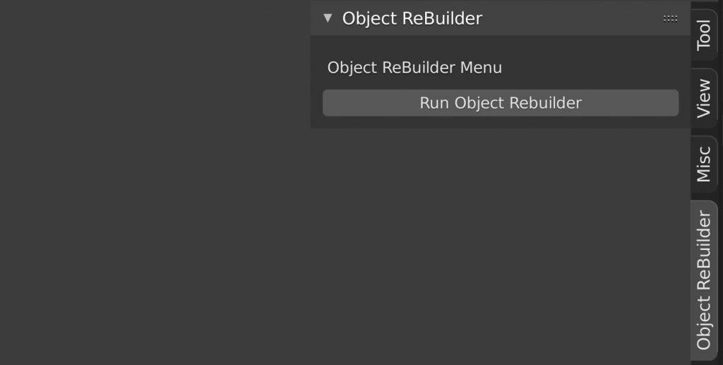 Object ReBuilder