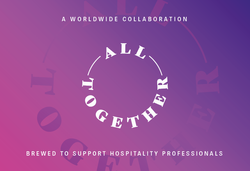 "Etikett som viser teksten ""All Together"""