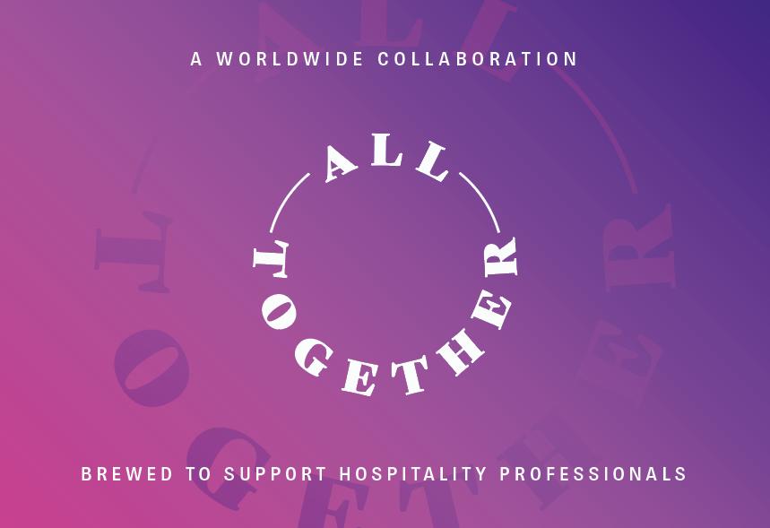 """Etikett som viser teksten """"All Together"""""""