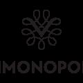"Vinmonopolet logo med teksten ""Vinmonopolet"" under."