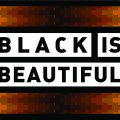 Den originale Black is Beautiful logoen.
