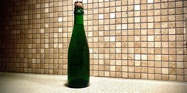 Stående flaske Oude Geuze
