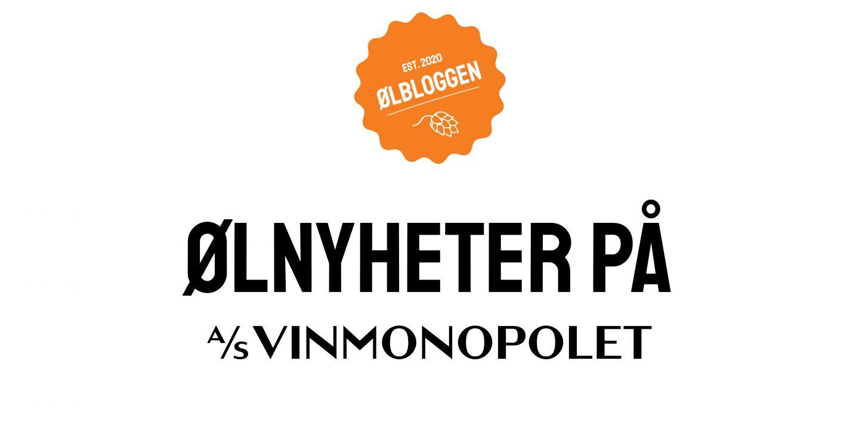 Logo med teksten ølnyheter på AS Vinmonopolet