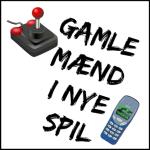 Gamle Mænd i Nye Spil Logo