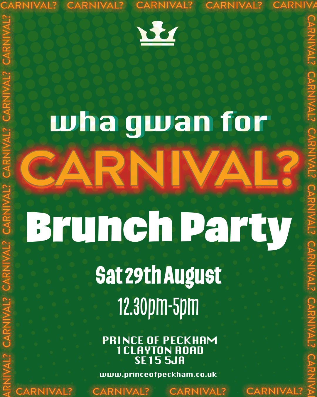 Carnival Bottomless Brunch