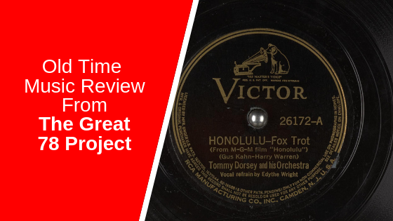 Honolulu –  Tommy Dorsey and his Orchestra