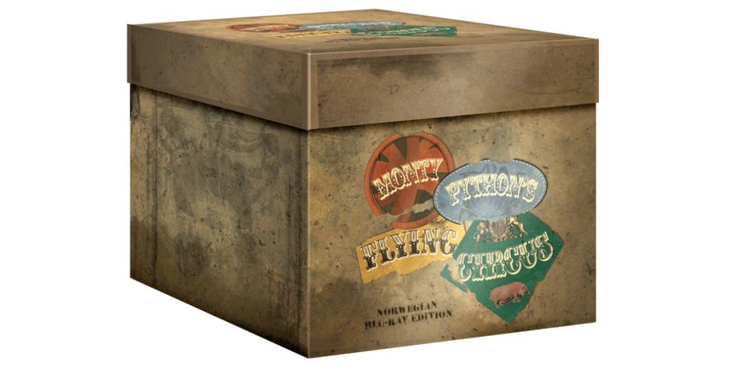 Monty Python's Flying Circus Norwegian Blu-ray Edition