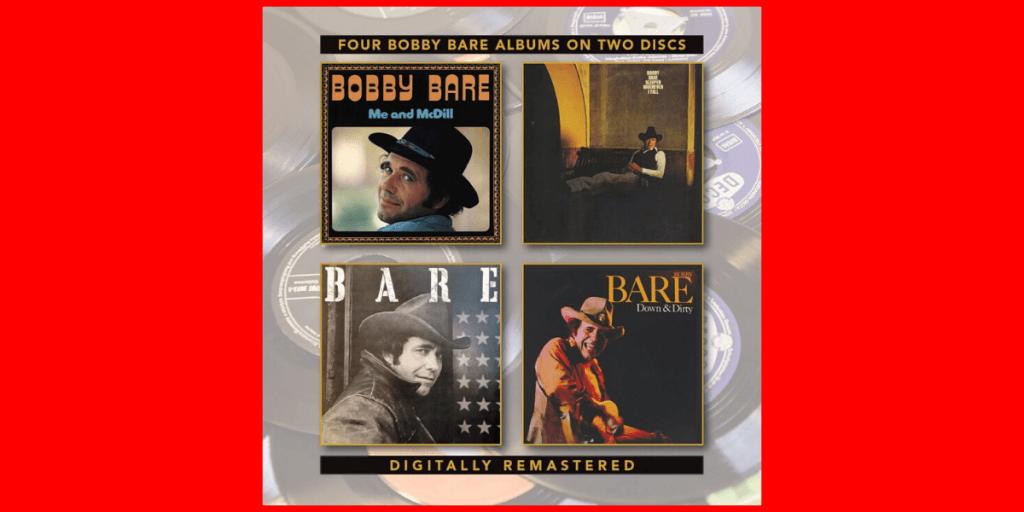 Me & McDill | Sleeper Wherever I Fall | Bare | Down & Dirty album covers Bobby Bare