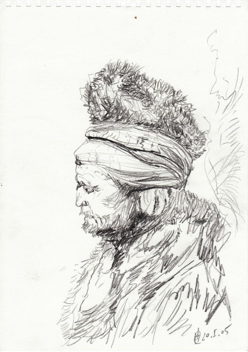Iagttagelse, Efter Rembrandt