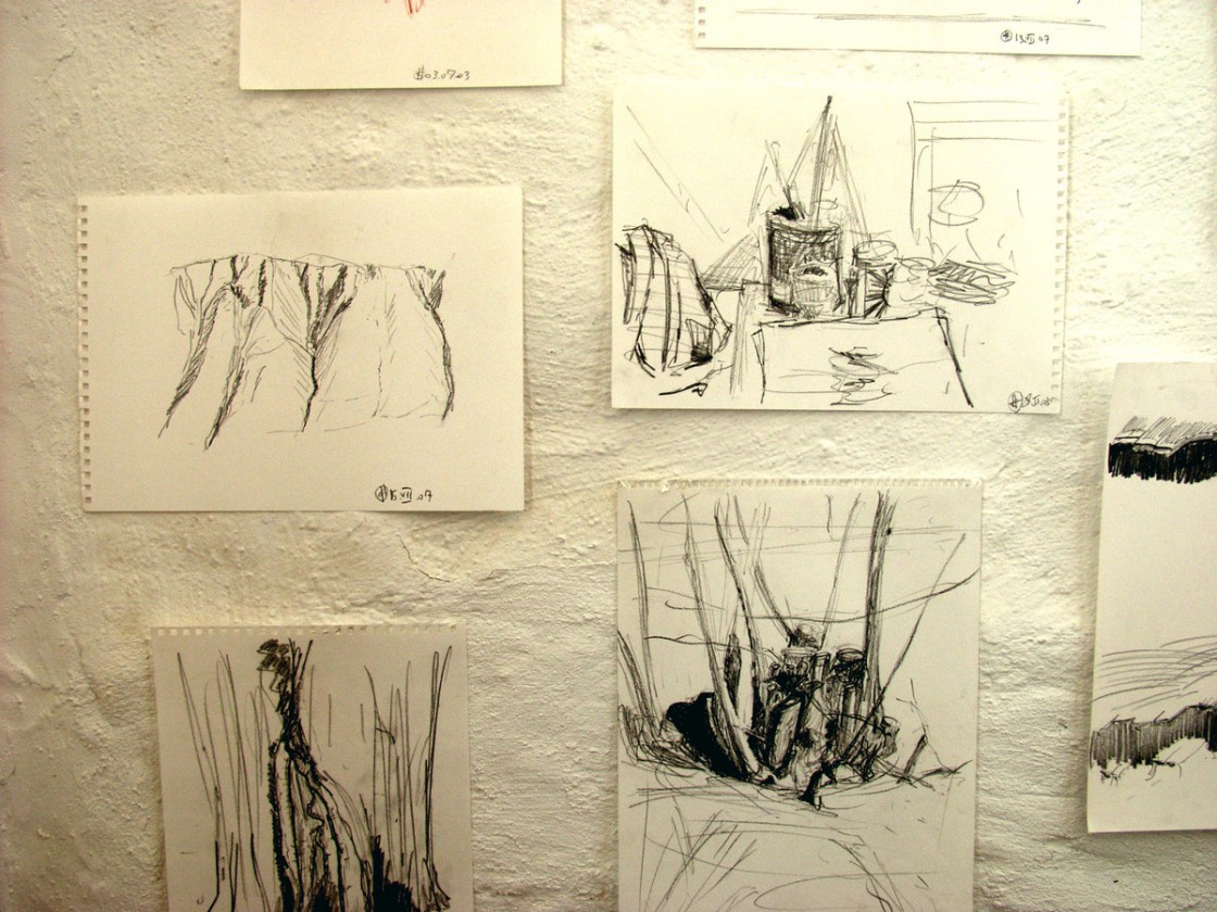 Observations (drawings) at the ground floor (details)