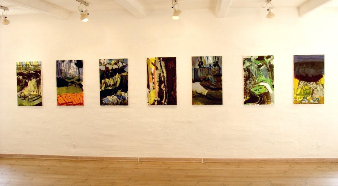 Malerier på 1. sal