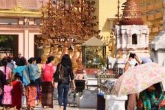 Shwezigon Pagoda - Bagan - Myanmar - Burma - 2019