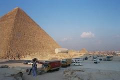 Giza pyramids - Egypt - 2002 - Foto: Ole Holbech