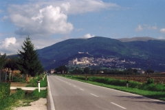 Assisi -  Italien - 1996 - Foto: Ole Holbech