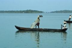 Kerala backwaters – India – 1983 - Foto: Ole Holbech